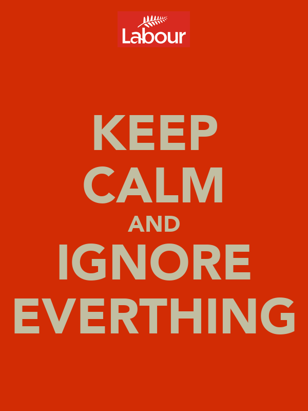 KEEP CALM AND IGNORE EVERTHING