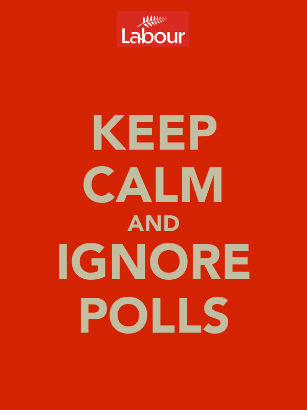 KEEP CALM AND IGNORE POLLS