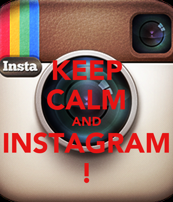 how to make a keep calm poster for instagram