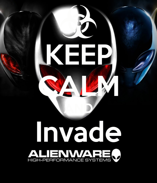 KEEP CALM AND Invade