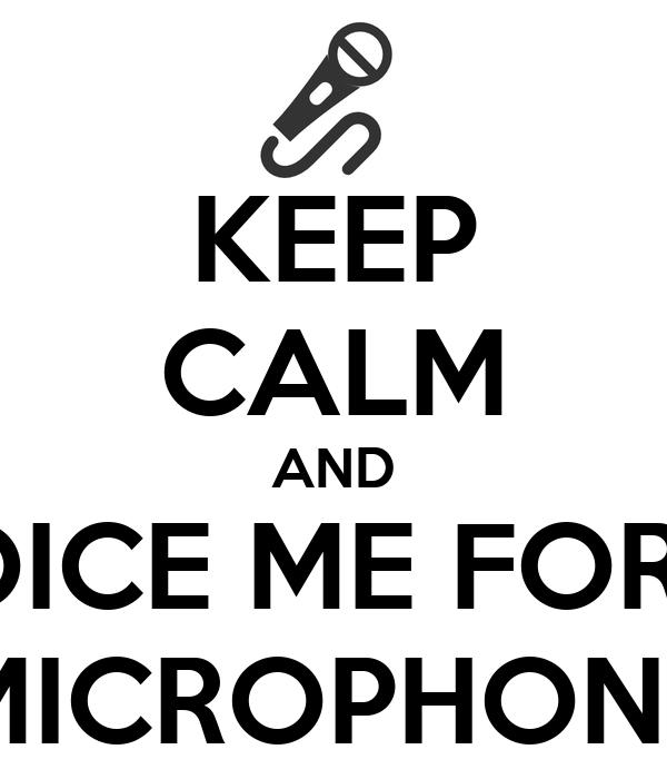 keep calm and invoice me for the microphone poster yukiko keep