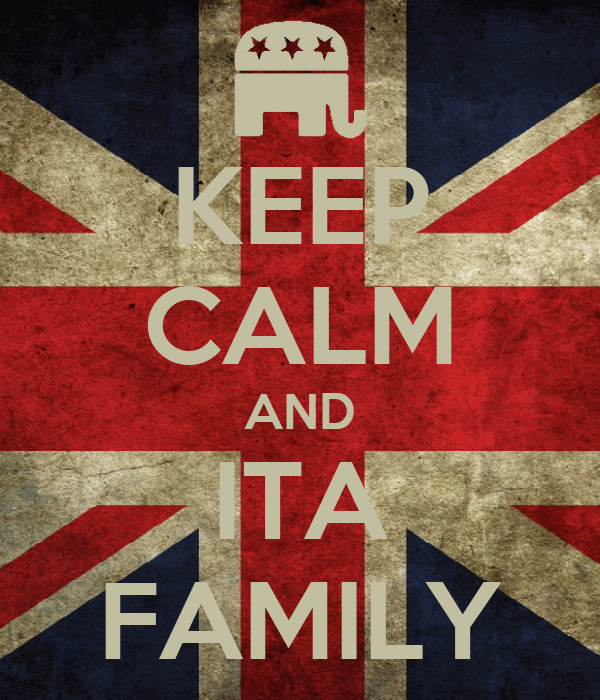 KEEP CALM AND ITA FAMILY