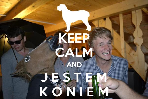 KEEP CALM AND J E S T E M K O N I E M