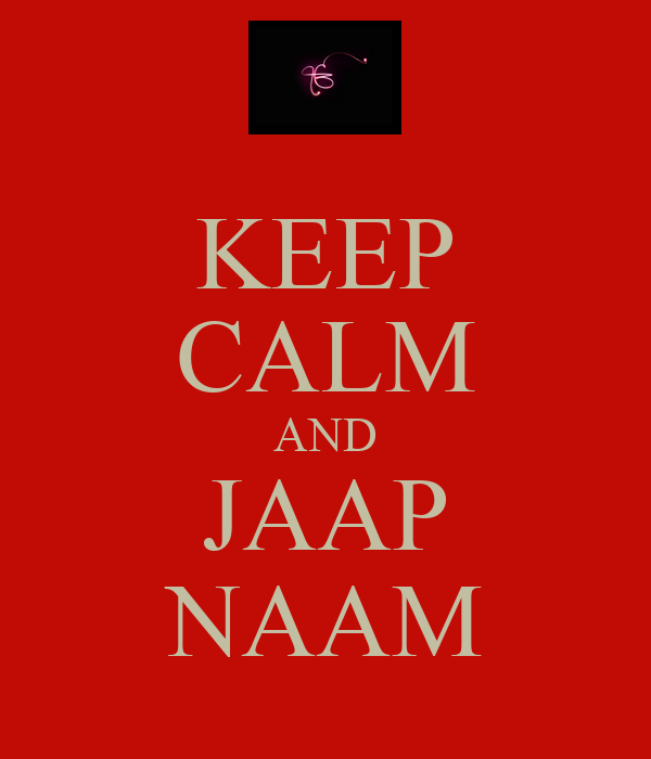 KEEP CALM AND JAAP NAAM