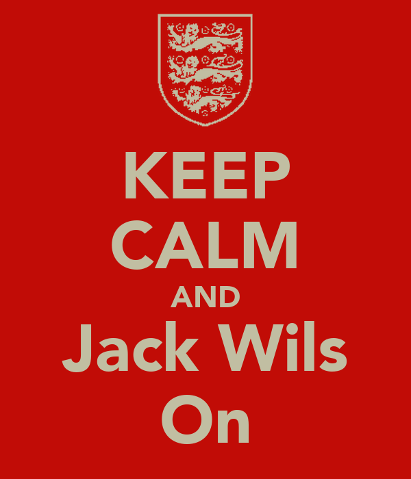 KEEP CALM AND Jack Wils On