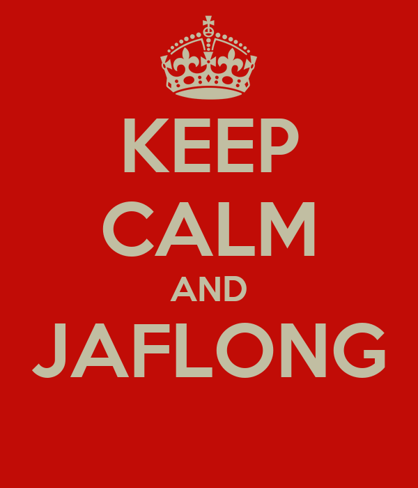KEEP CALM AND JAFLONG