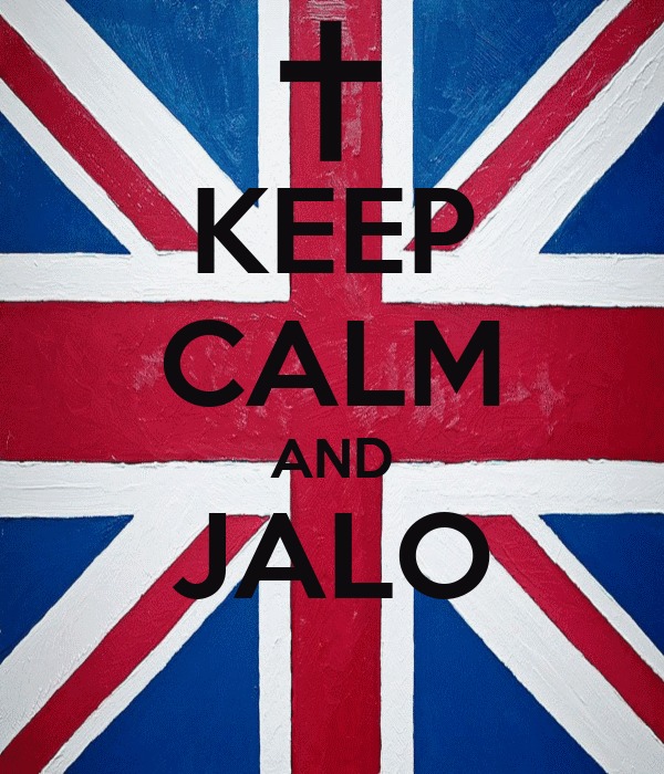 KEEP CALM AND JALO