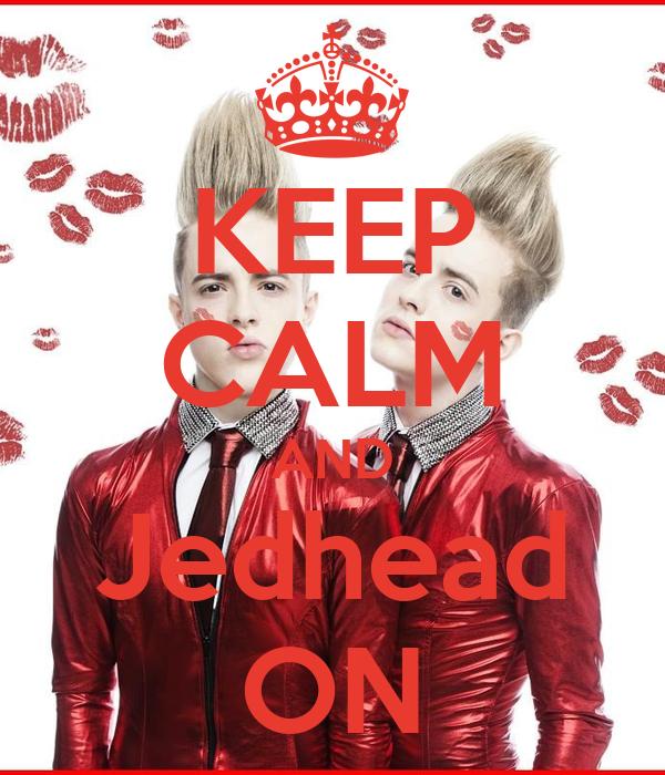 KEEP CALM AND Jedhead ON