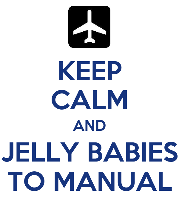KEEP CALM AND JELLY BABIES TO MANUAL
