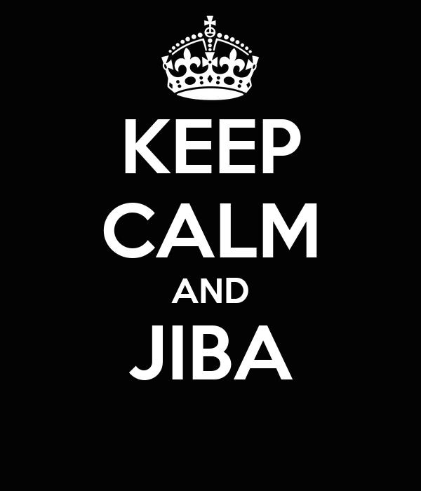 KEEP CALM AND JIBA