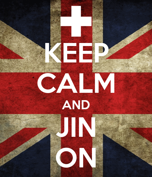KEEP CALM AND JIN ON
