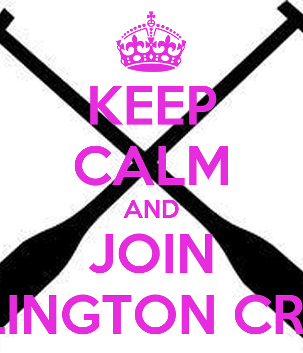 KEEP CALM AND JOIN ARLINGTON CREW