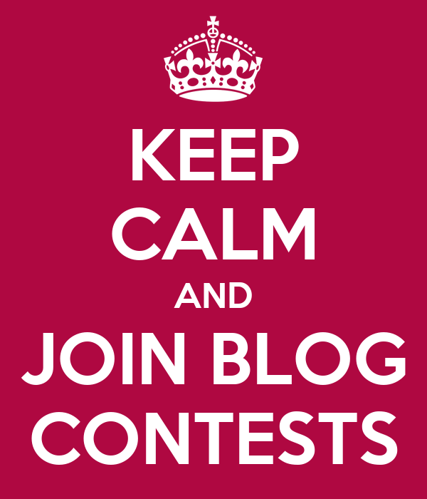 KEEP CALM AND JOIN BLOG CONTESTS