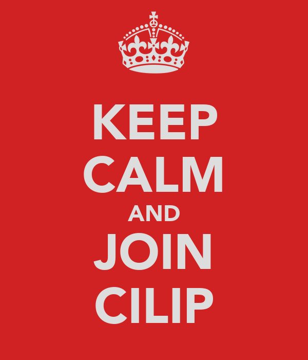 KEEP CALM AND JOIN CILIP