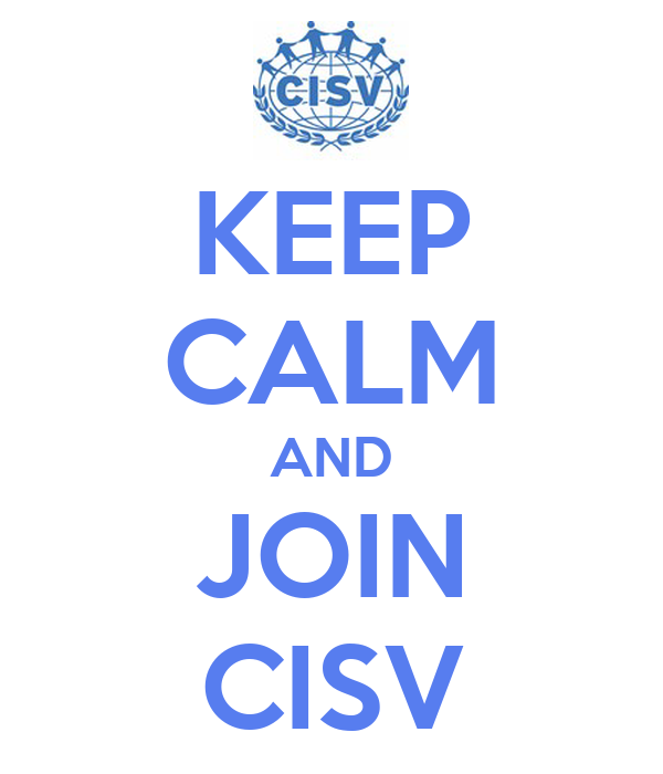 KEEP CALM AND JOIN CISV