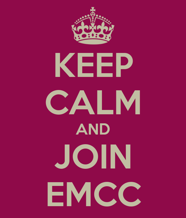 KEEP CALM AND JOIN EMCC