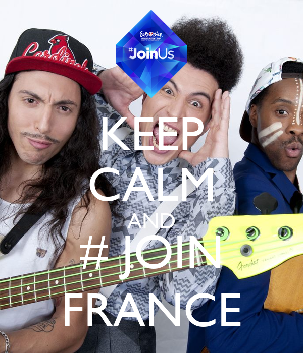 KEEP CALM AND # JOIN FRANCE