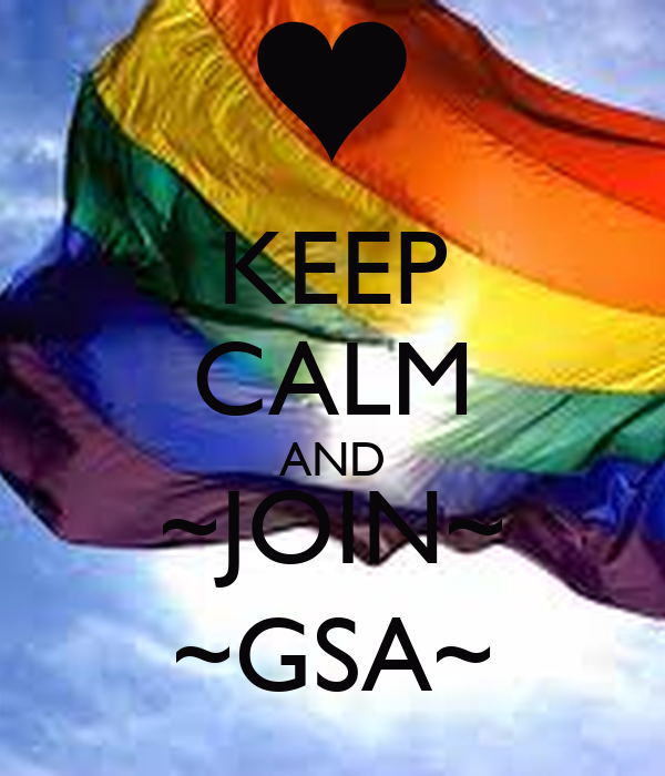KEEP CALM AND ~JOIN~ ~GSA~