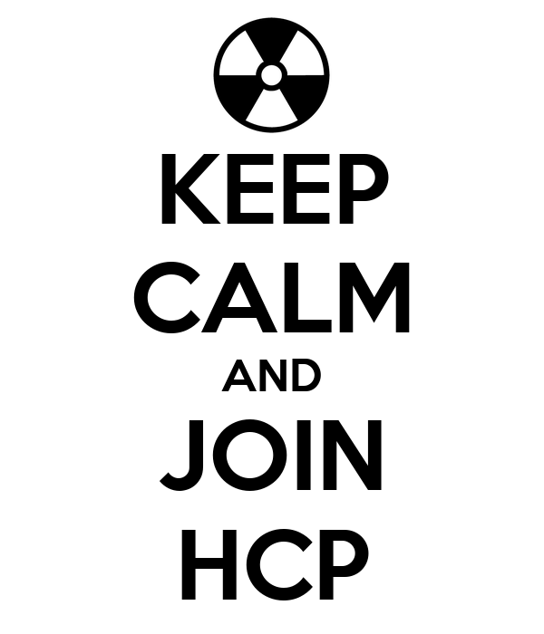 KEEP CALM AND JOIN HCP