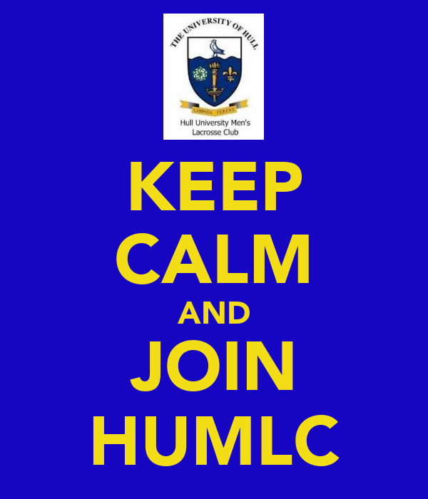 KEEP CALM AND JOIN HUMLC