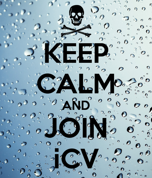KEEP CALM AND JOIN iCV