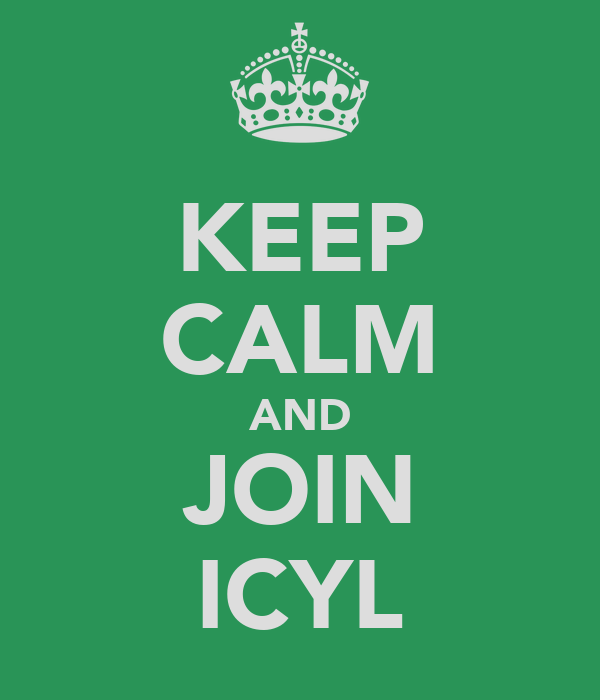 KEEP CALM AND JOIN ICYL
