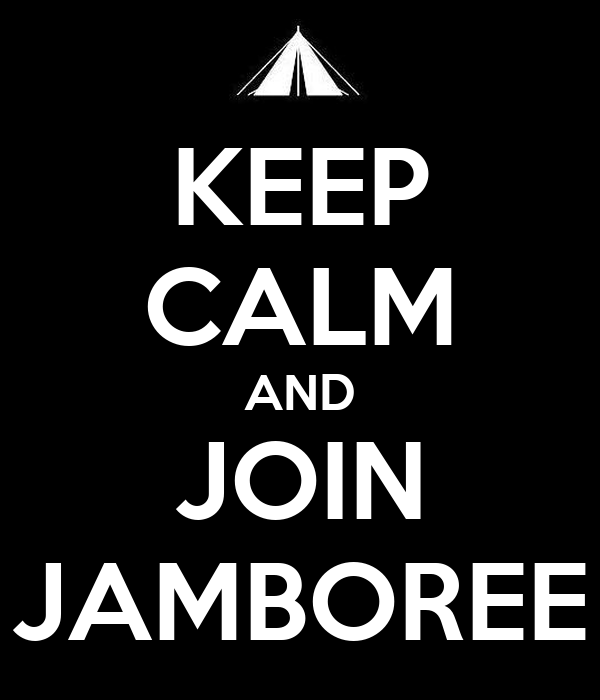 KEEP CALM AND JOIN JAMBOREE