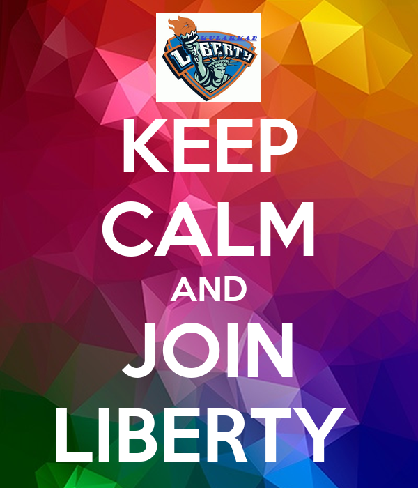 KEEP CALM AND JOIN LIBERTY