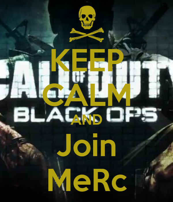 KEEP CALM AND Join MeRc