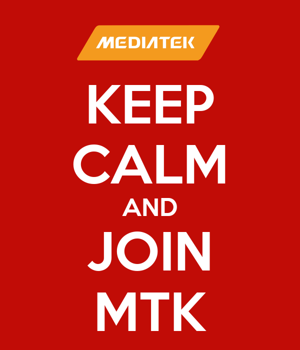 KEEP CALM AND JOIN MTK