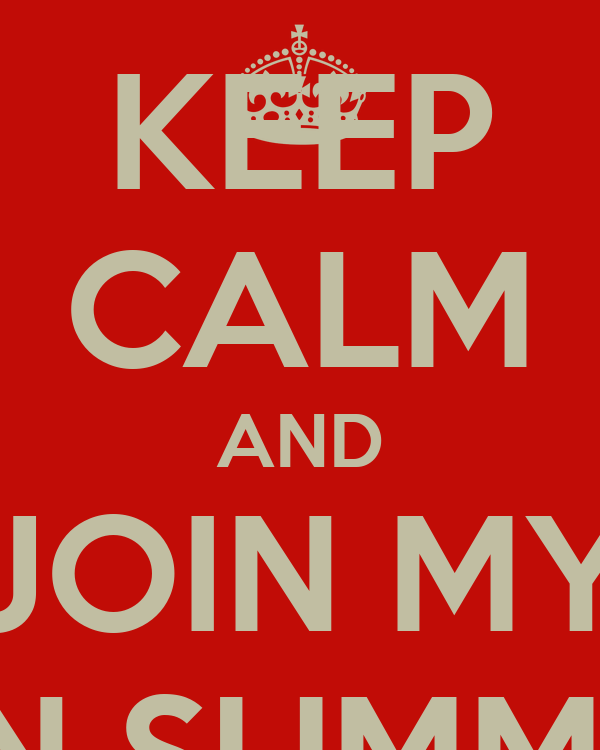 KEEP CALM AND JOIN MY ANN SUMMERS