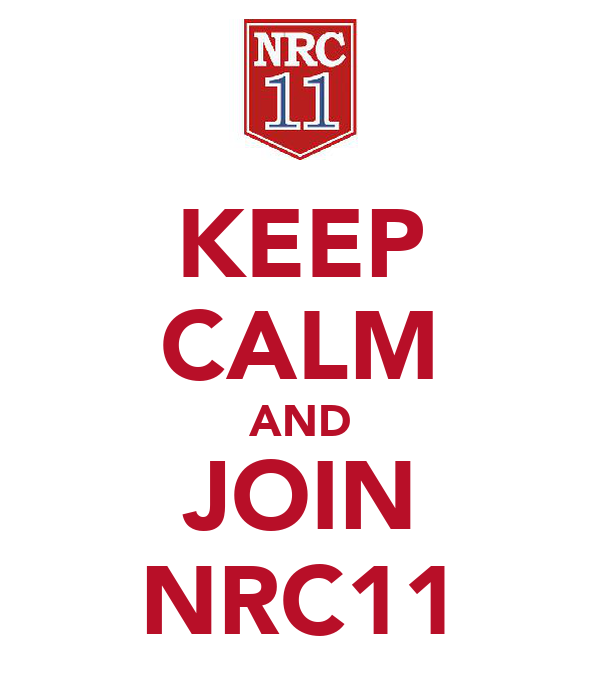 KEEP CALM AND JOIN NRC11