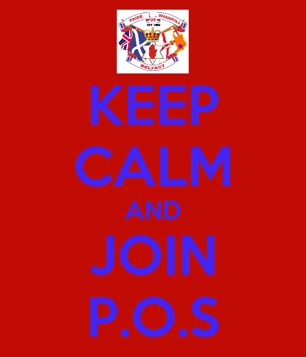 KEEP CALM AND JOIN P.O.S