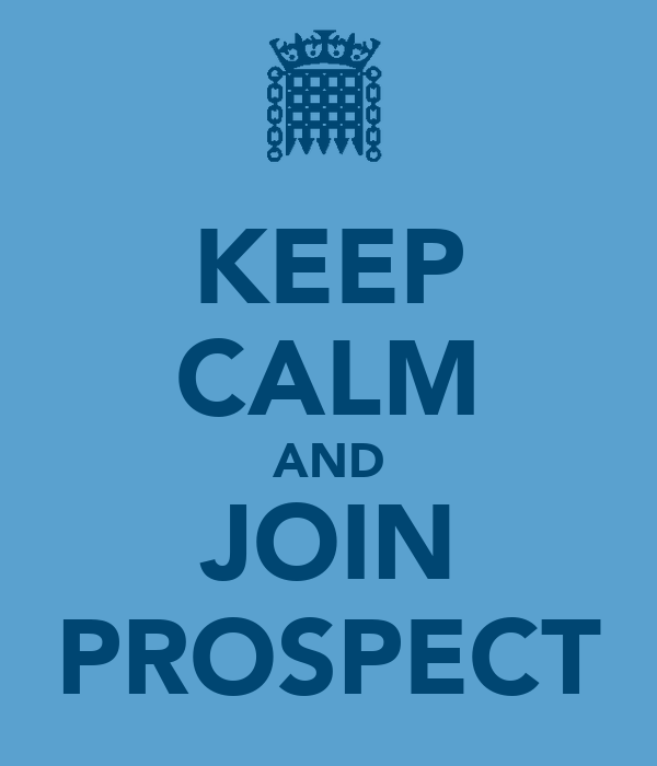KEEP CALM AND JOIN PROSPECT