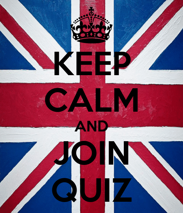 KEEP CALM AND JOIN QUIZ