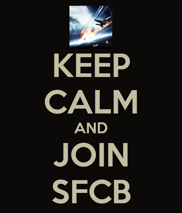 KEEP CALM AND JOIN SFCB