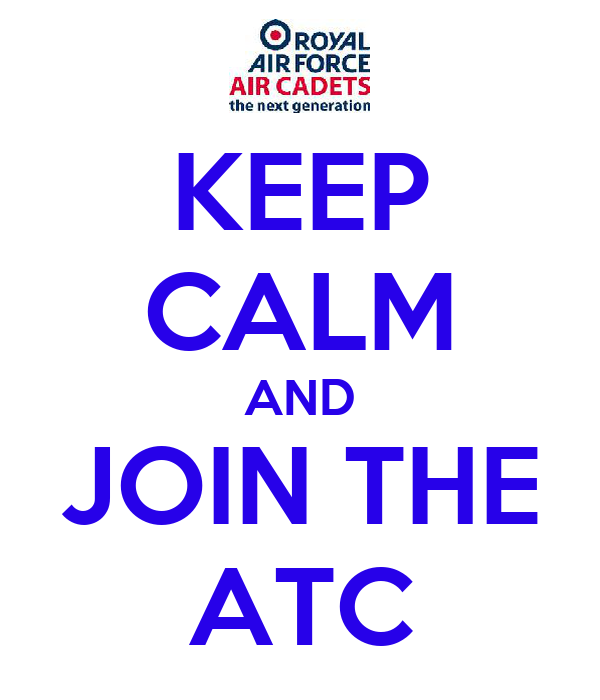 KEEP CALM AND JOIN THE ATC