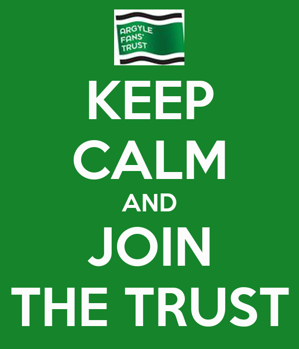 KEEP CALM AND JOIN THE TRUST