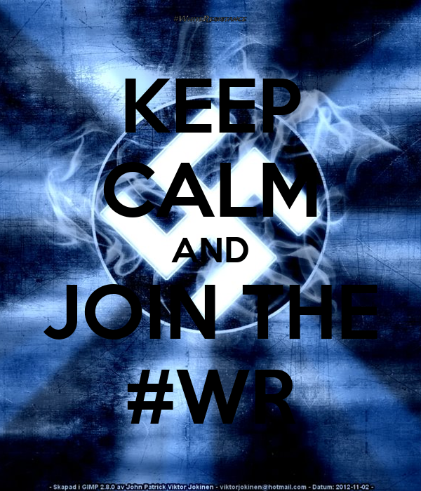 KEEP CALM AND JOIN THE #WR