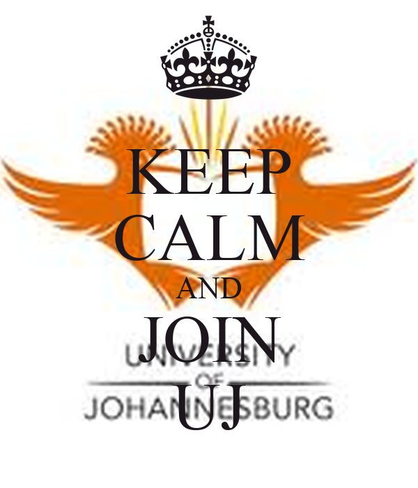 KEEP CALM AND JOIN UJ