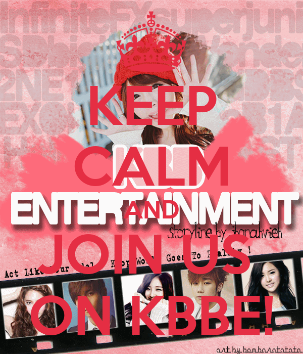 KEEP CALM AND JOIN US  ON KBBE!