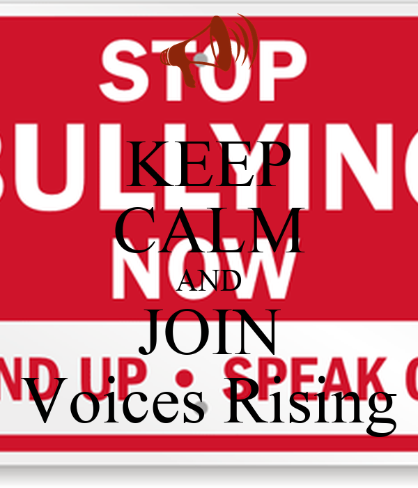 KEEP CALM AND JOIN Voices Rising