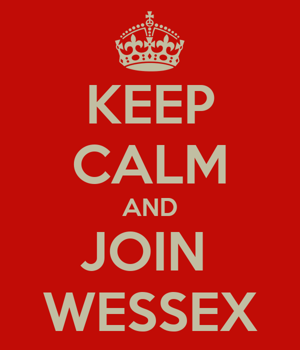 KEEP CALM AND JOIN  WESSEX