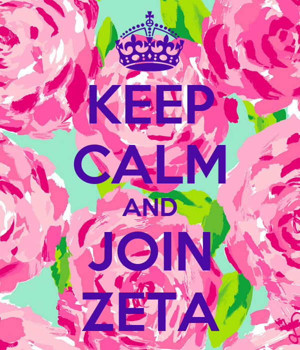 KEEP CALM AND JOIN ZETA
