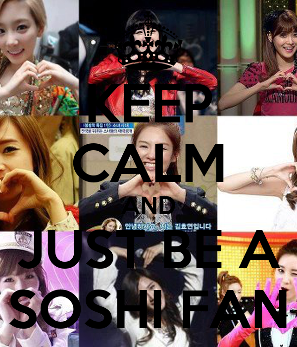 KEEP CALM AND JUST BE A SOSHI FAN