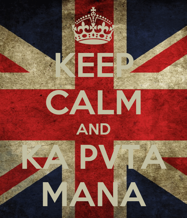 KEEP CALM AND KA PVTA MANA
