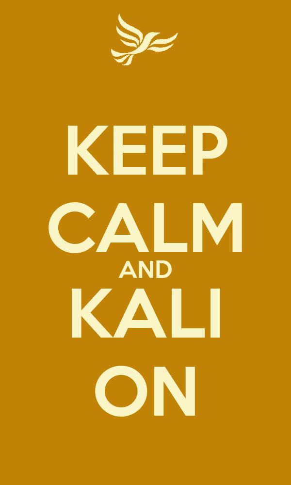 KEEP CALM AND KALI ON