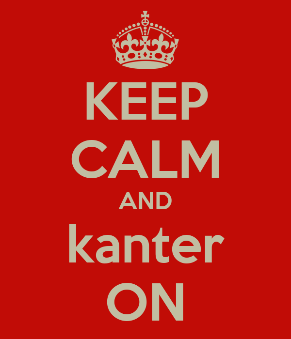 KEEP CALM AND kanter ON