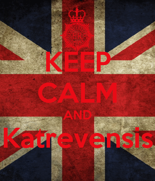 KEEP CALM AND Katrevensis