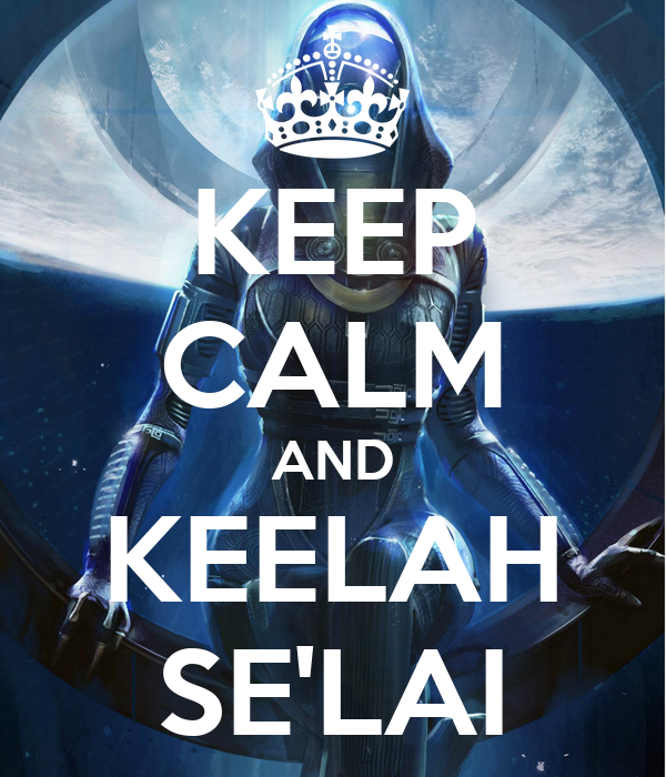 KEEP CALM AND KEELAH SE'LAI